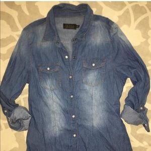 Tops - Ladies denim shirt